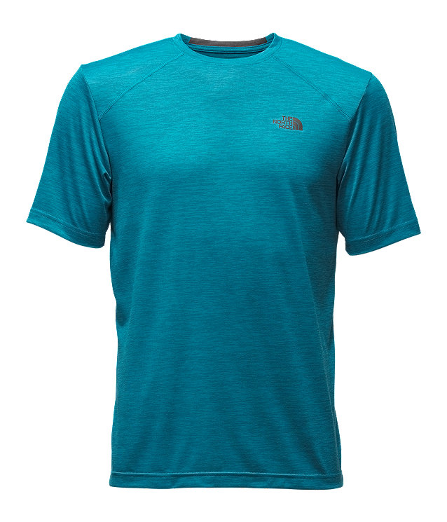 MEN'S SHORT-SLEEVE LONGLINE FLASHDRY CREW