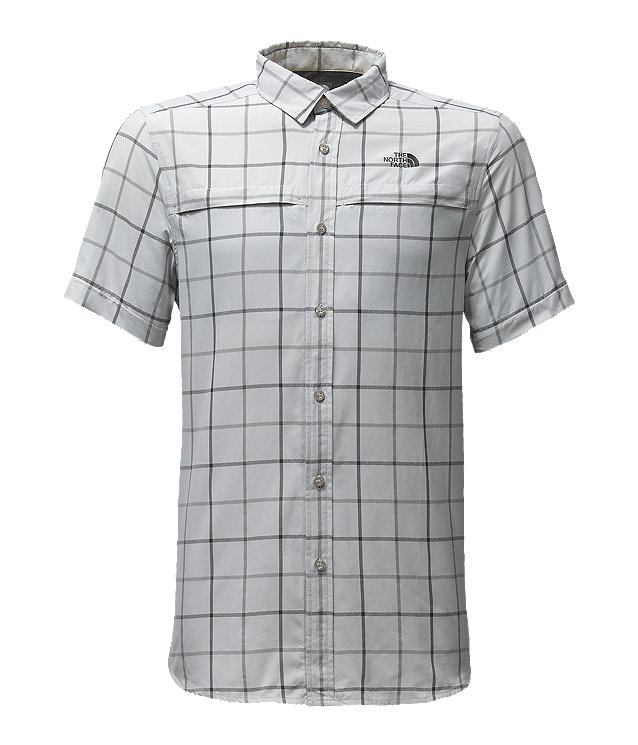 MEN'S SHORT-SLEEVE TATTERSAL VENT ME SHIRT