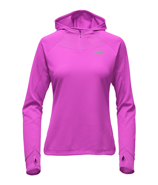 WOMEN'S ANY DISTANCE MESH HOODIE