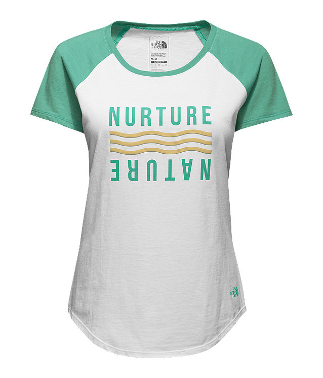 WOMEN'S SHORT-SLEEVE NURTURE BASEBALL TEE