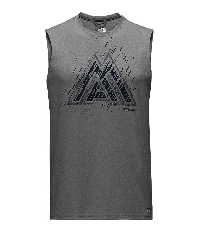 MEN'S SLEEVELESS MA GRAPHIC REAXION AMP TEE