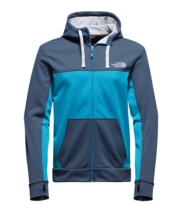 MEN'S SURGENT BLOCK FULL ZIP HOODIE