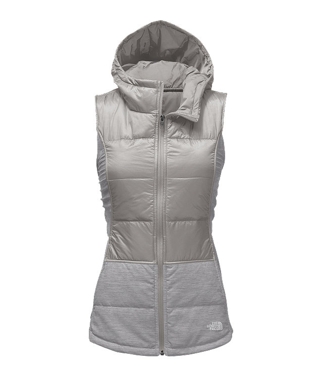 WOMEN'S PSEUDIO HOODED VEST