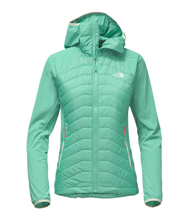 WOMEN'S PROGRESSOR INSULATED HYBRID HOODIE