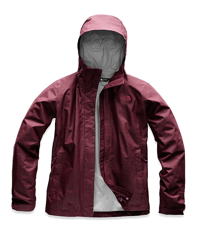 Women's 2 North Venture The Rain Face JacketWaterproof PkZOXiu