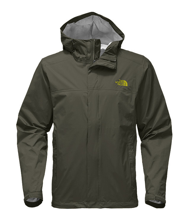 North face venture parka men's