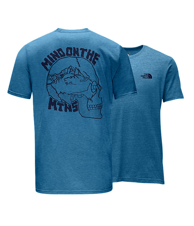 MEN'S SHORT-SLEEVE MIND ON MTNS TRI SLIM TEE