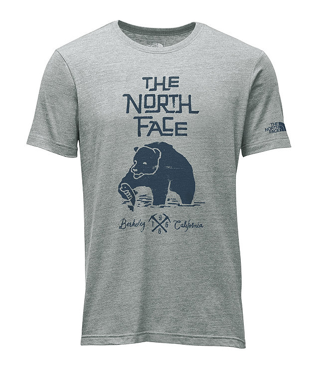 MEN'S SHORT-SLEEVE GRIZZLY TRI-BLEND TEE