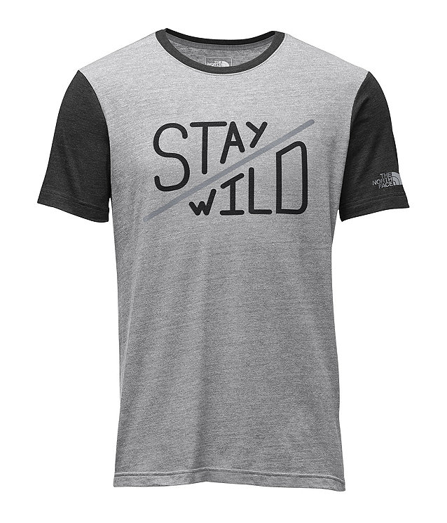 MEN'S SHORT-SLEEVE WILD SIDE TRI-BLEND TEE