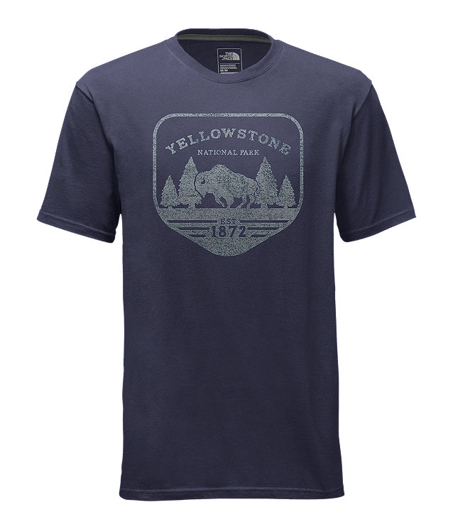 MEN'S SHORT-SLEEVE NATONAL PARKS PATCH TEE