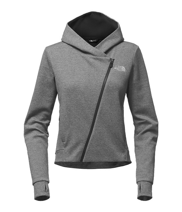 WOMEN'S HEATUP FULL ZIP HOODIE
