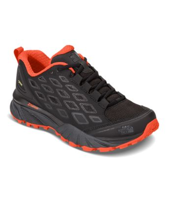 The North Face Women's Storm III Waterproof Hiking Shoes - Darkgull Gray and Chiffon Yellow - 5.5 UXOfxJCR1r