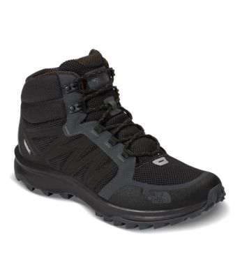 The North Face Mens Litewave Mid GTX Trekking and Hiking Shoes