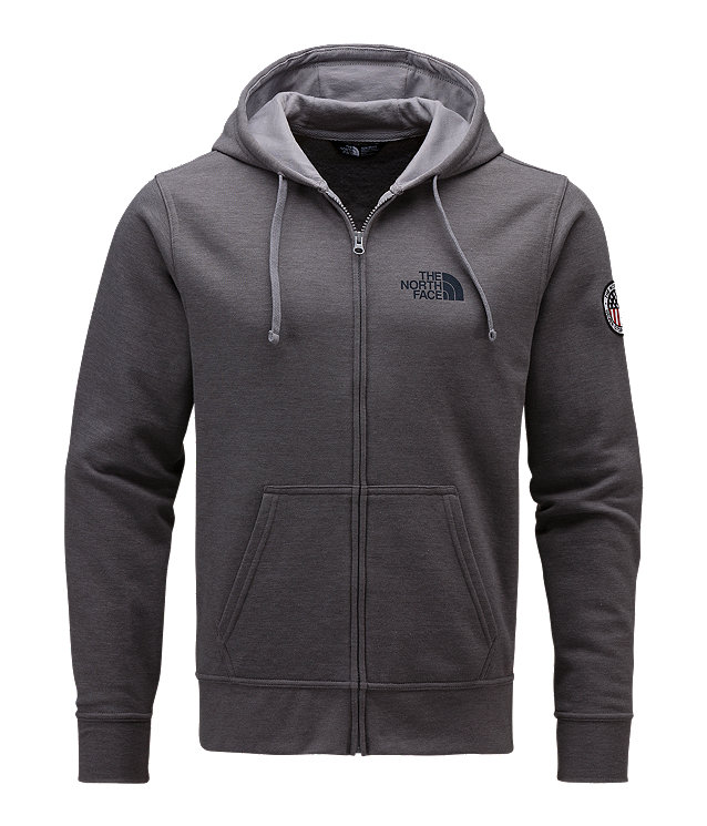 MEN'S USA FULL ZIP HOODIE