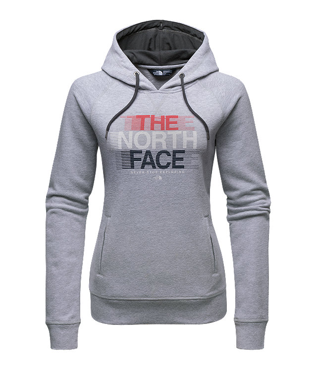 WOMEN'S FRENCH TERRY USA PULLOVER HOODIE