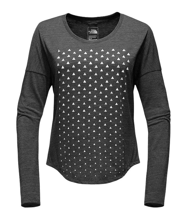 WOMEN'S LONG-SLEEVE CONFETTI TRI-BLEND TEE
