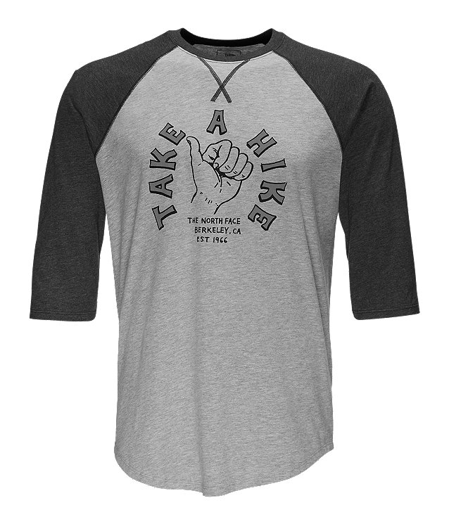 MEN'S TAKE A HIKE BASEBALL TEE