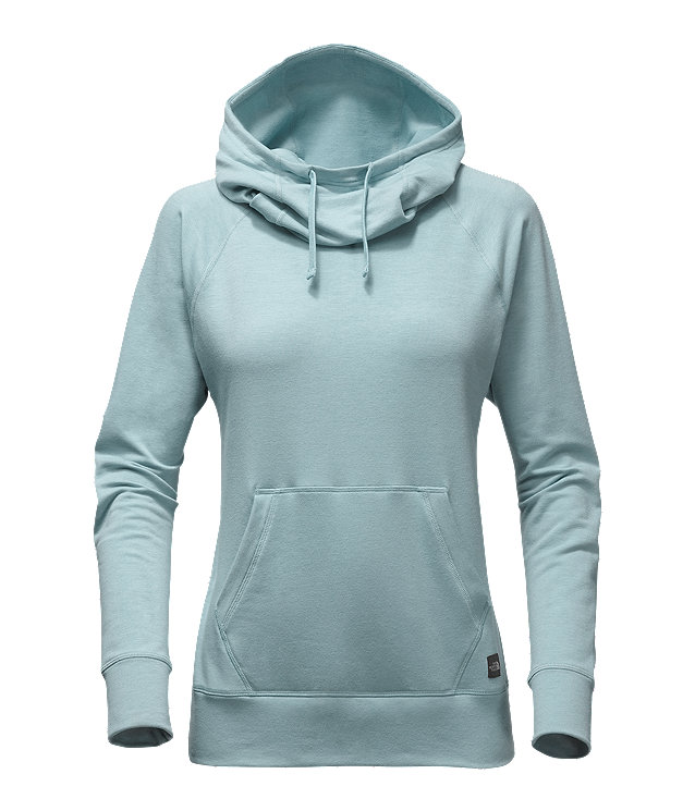 WOMEN'S LONG-SLEEVE TNF™ TERRY HOODED TOP