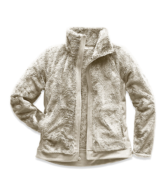 WOMEN'S FURRY FLEECE FULL ZIP