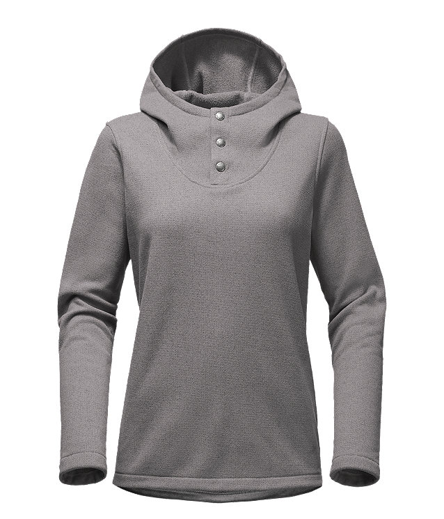 WOMEN'S KNIT STITCH FLEECE PULLOVER