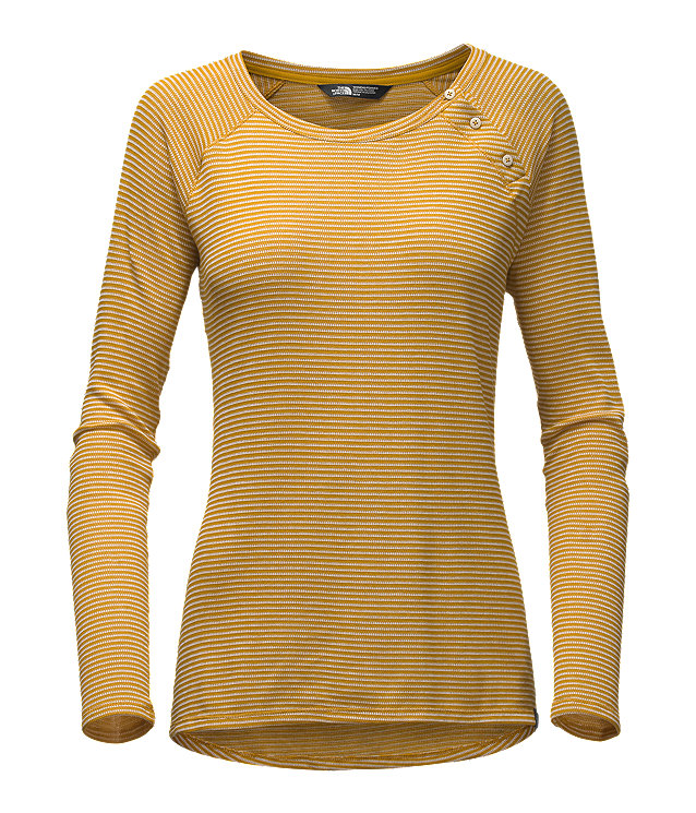 WOMEN'S LONG-SLEEVE CRESTING KNIT TOP