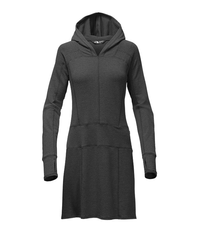 WOMEN'S LONG-SLEEVE TNF™ TERRY DRESS