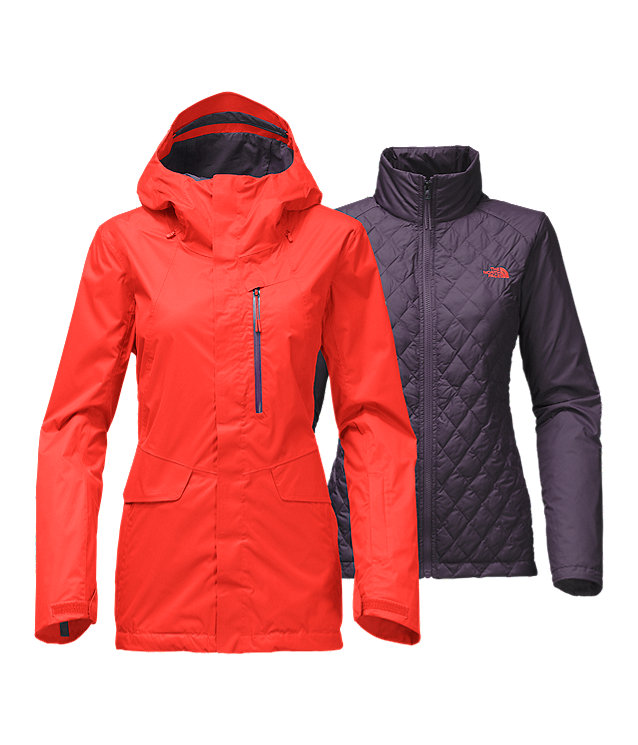 7b3febed5 WOMEN'S THERMOBALL™ SNOW TRICLIMATE® JACKET
