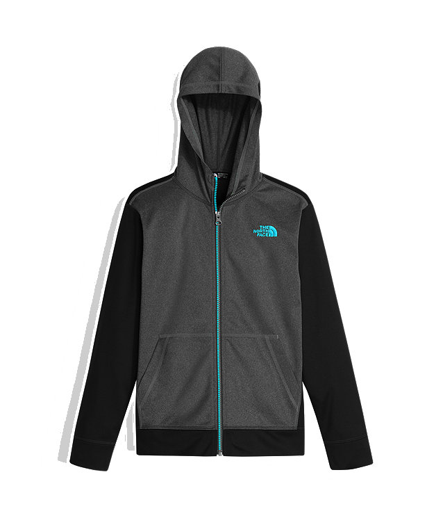 BOYS' TECH GLACIER FULL ZIP HOODIE