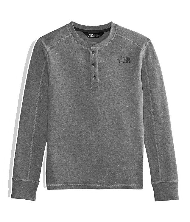 BOYS' LONG-SLEEVE HENLEY