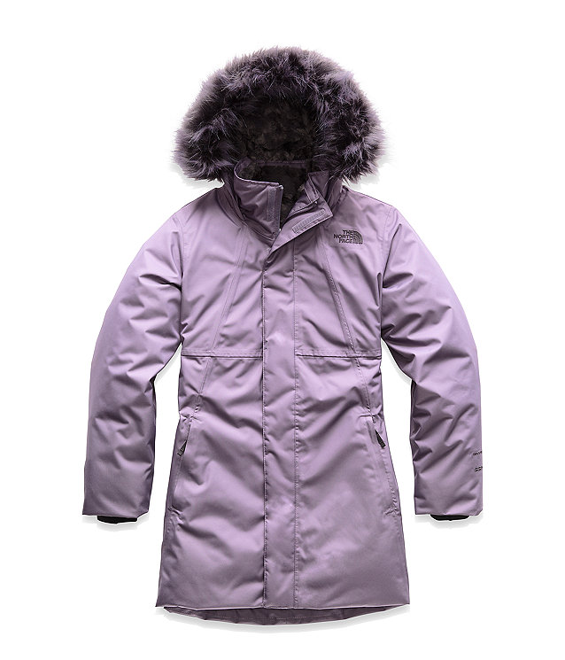 GIRLS' ARCTIC SWIRL DOWN PARKA