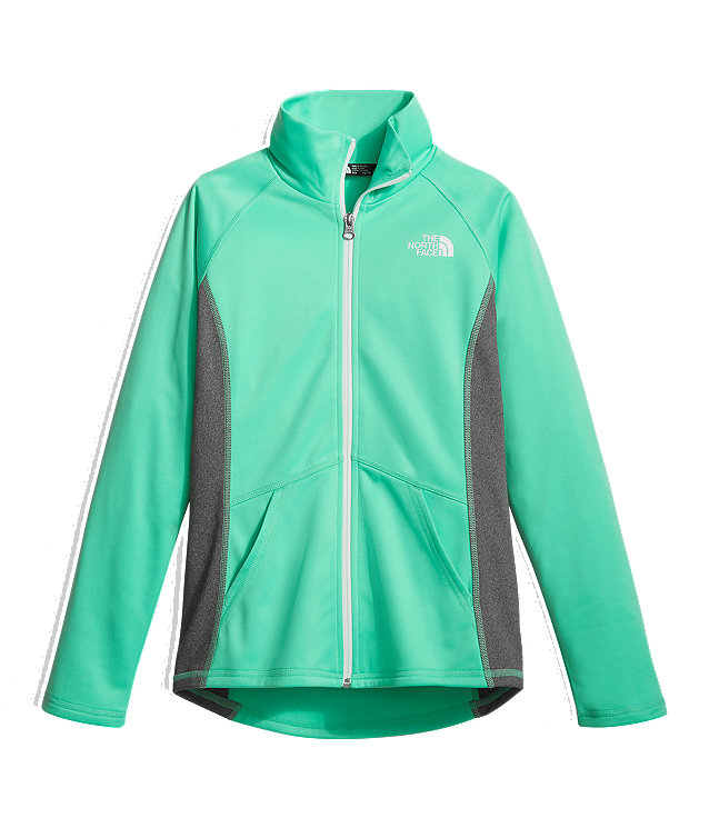 GIRLS' TECH GLACIER FULL ZIP