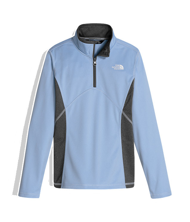 GIRLS' TECH GLACIER 1/4 ZIP