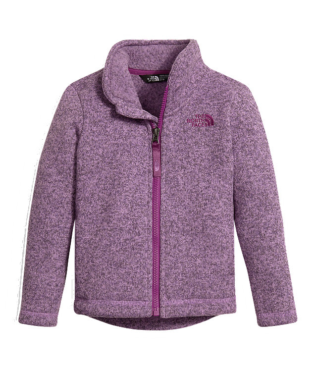TODDLER GIRLS' CRESCENT FULL ZIP