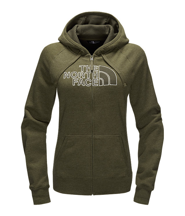 WOMEN'S AVALON HALF DOME FULL ZIP HOODIE