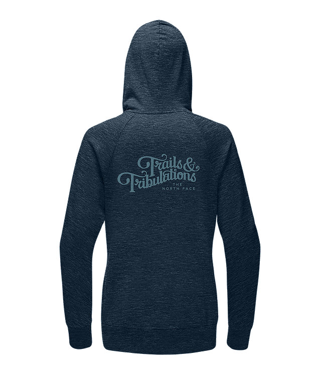 WOMEN'S TRAILS AND TRIBULATIONS LITE FULL ZIP HOODIE