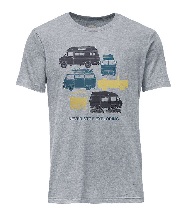 MEN'S SHORT-SLEEVE VAN TRI-BLEND TEE