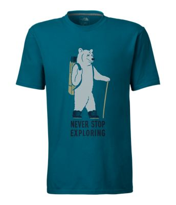 Men's Short Sleeve Walking Bear Tee by The North Face