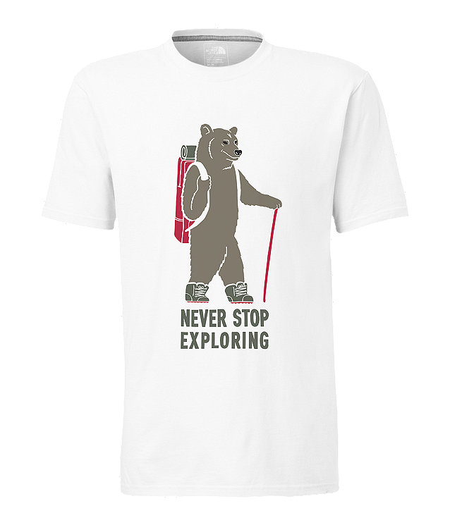 MEN'S SHORT-SLEEVE WALKING BEAR TEE