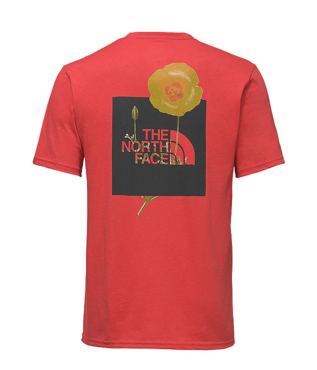 MEN'S SHORT-SLEEVE BOTTLE SOURCE RED BOX TEE