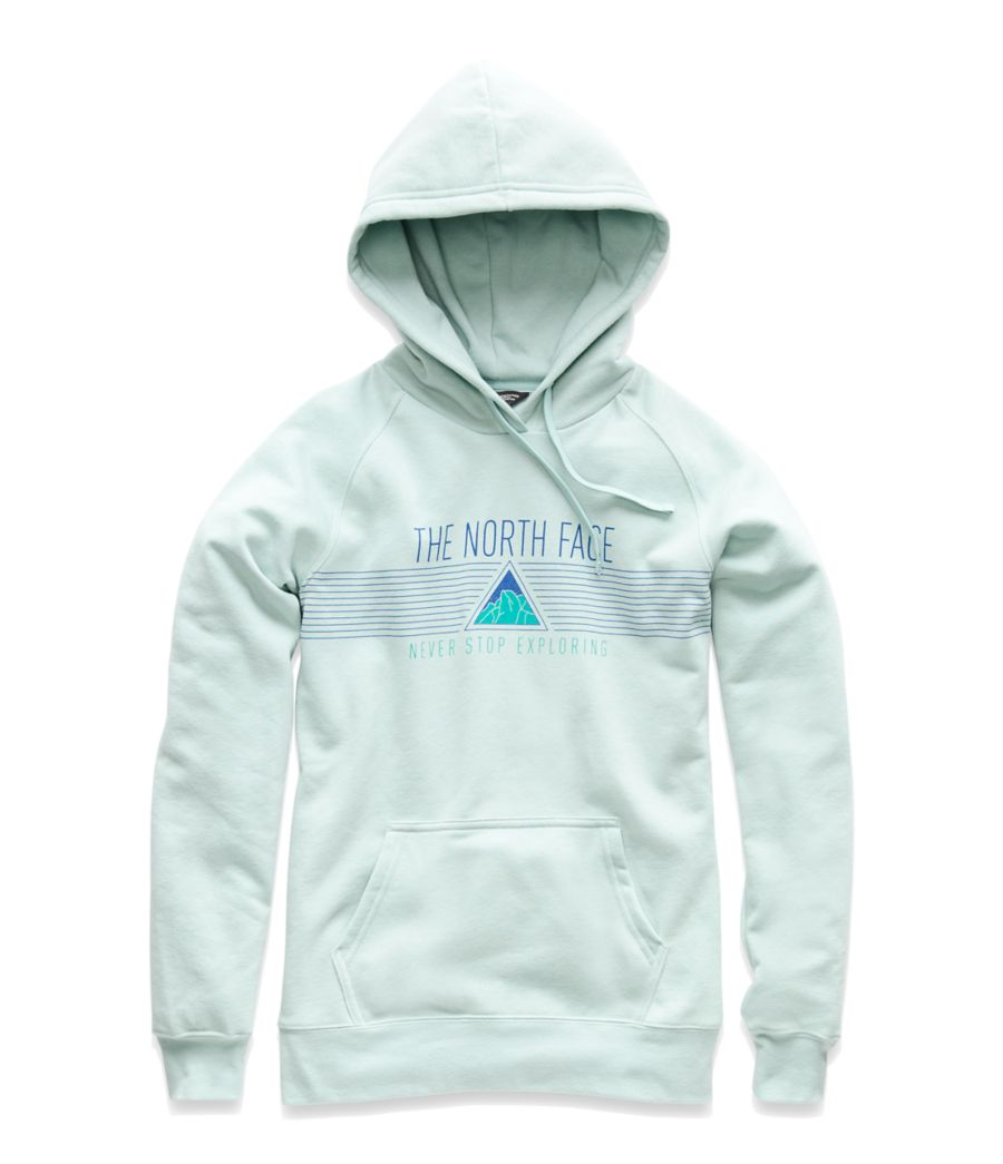 WOMEN'S EDGE TO EDGE PULLOVER HOODIE-