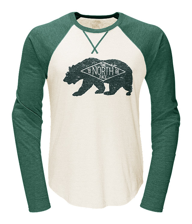 MEN'S LONG-SLEEVE BEARITAGE BASEBALL TEE