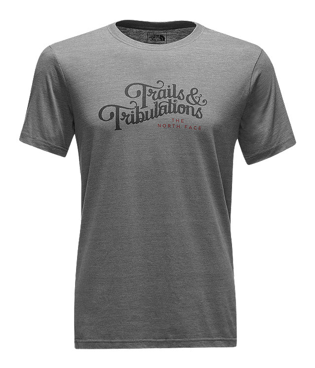 MEN'S SHORT-SLEEVE TRAILS AND TRIBULATIONS TRI TEE