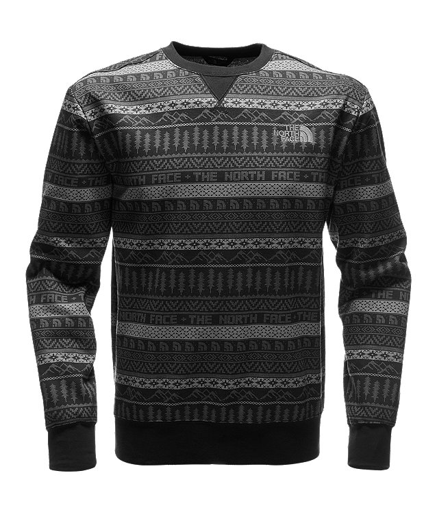 MEN'S HOLIDAY FLEECE CREW