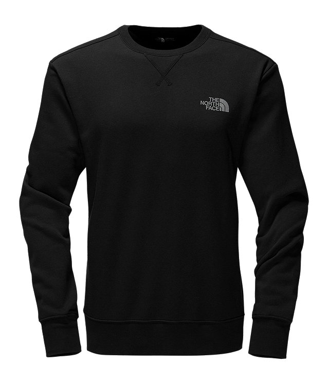 MEN'S REFLECTIVE HALF DOME CREW FLEECE