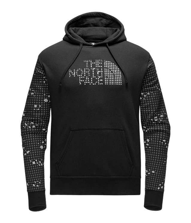 MEN'S REFLECTIVE HALF DOME PULLOVER HOODIE