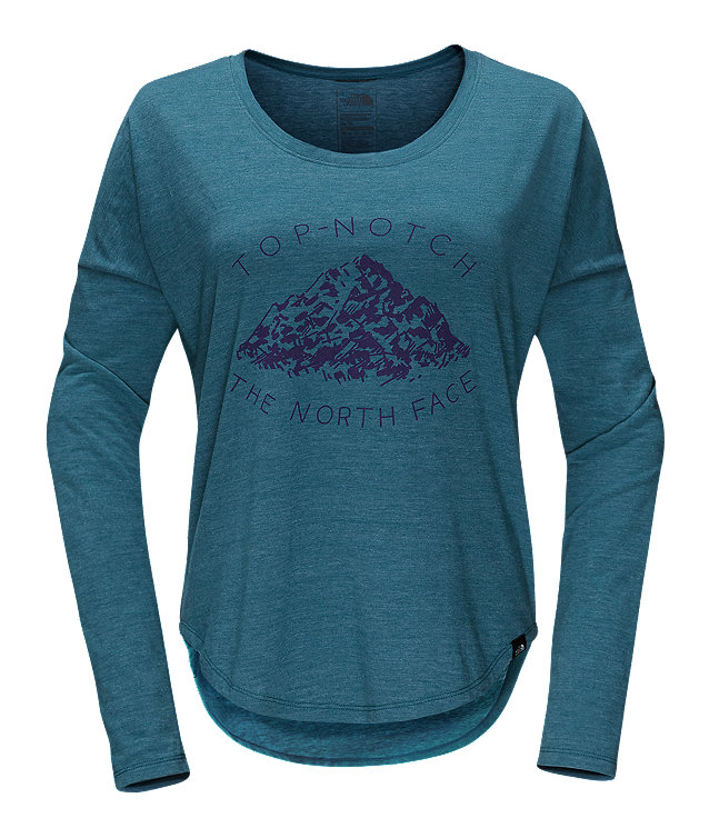 WOMEN'S LONG-SLEEVE MOUNTAIN VIEW TRI-BLEND TEE