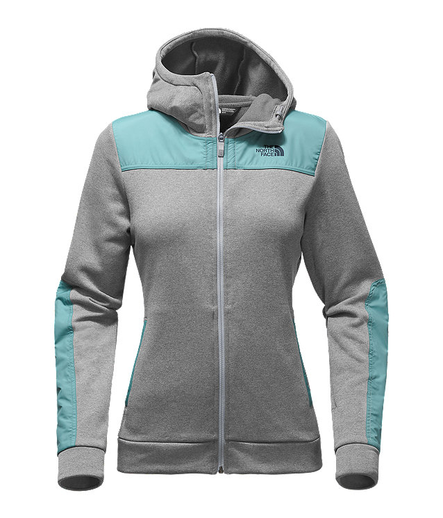 WOMEN'S CLIMB ON FULL ZIP HOODIE