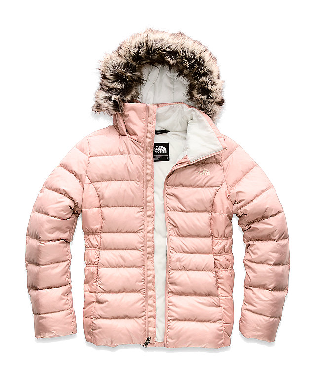 Pink Puffer Coat from The North Face