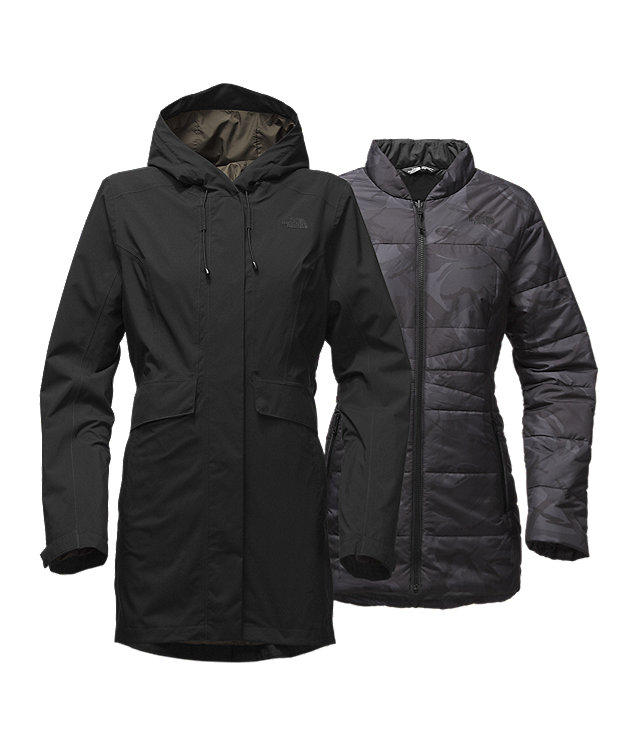 MANTEAU CROSS BOROUGHS TRICLIMATE® POUR FEMMES