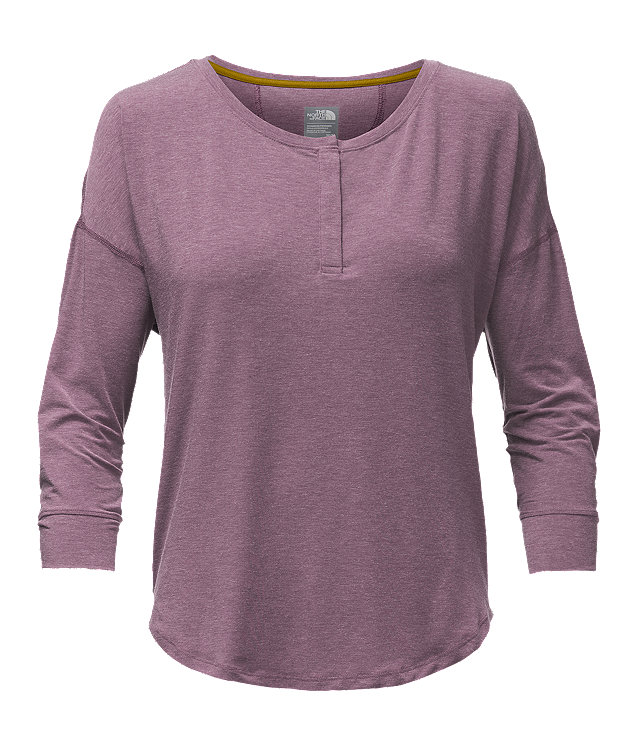 WOMEN'S LONG-SLEEVE IN A FLASH HENLEY